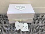 Shabby Personalised Chic In Memory Of A DAUGHTER Loved One Keepsake Box ANY NAME - 232993515477